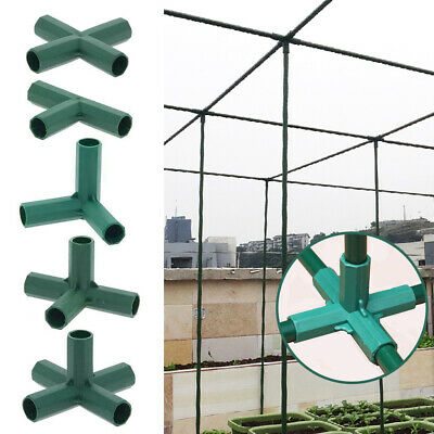 £7.58 • Buy Greenhouse Awning Structure Joints Connector Plastic Pipe Frame DIY Accessories