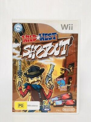 AU19.95 • Buy Wild West Shootout, WII Game . Compatible With WII Zapper. PG Region PAL