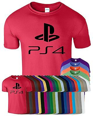 £8.49 • Buy Playstation Controller PS4 Mens T Shirt Gaming Mode Funny Gamer Adult Top Tee