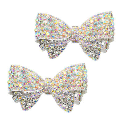 £7.67 • Buy 2x Womens Bow Shoe Charms Clip Wedding High Heel Shoes Ornaments Jewelry