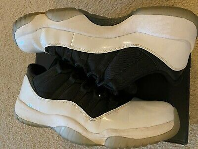 $41 • Buy Air Jordan 11 Low  Tuxedo  Pre-owned Good Condition *size 11.5*
