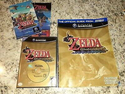 $69 • Buy COMPLETE Legend Of Zelda: The Wind Waker (GameCube, 2003) & Guide Book