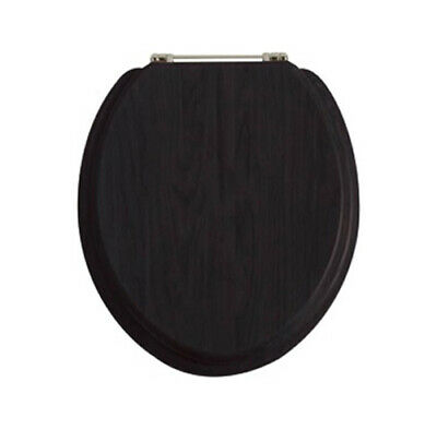 Heritage Standard WC Toilet Seats All Colours With Vintage Gold Hinges • 82£