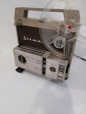 $ CDN100 • Buy Italy SILMA 8mm Vintage Projector Complete With Box Works Super 8 And Normal 8