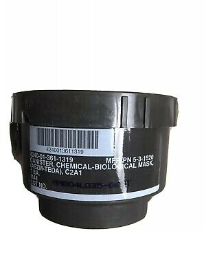 $42 • Buy M-40 C2-A1 Filter /fits M-40 Gas Mask & Israeli Gas Mask