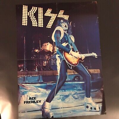 $24.99 • Buy 3 Kiss Magazine Posters!! Ace Frehley