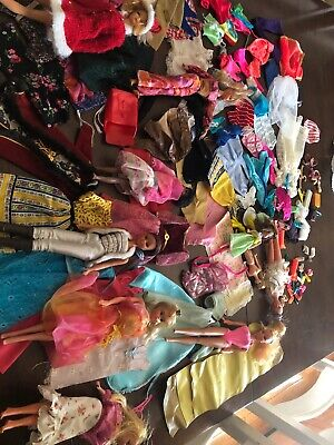 $ CDN38.08 • Buy Vintage Barbie Lot 1960s - 11 Dolls And Clothing