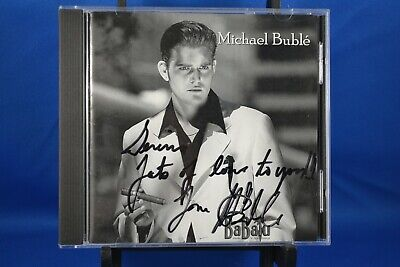 £174.88 • Buy MICHAEL BUBLE  BaBalu  RARE CD Hard To Find OOP 2001 INDIE Signed Autographed