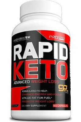 $10.99 • Buy Rapid Keto Diet Pills | Advanced Ketogenic Diet Weight Loss Supplement | BHB...