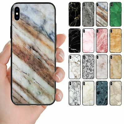 AU14.98 • Buy For Huawei Phone Series - Marble Print Pattern Back Case Mobile Phone Cover #1