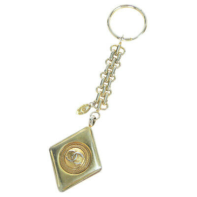£121.96 • Buy Auth Chanel CClogo Keyring (Gold) 01GC192