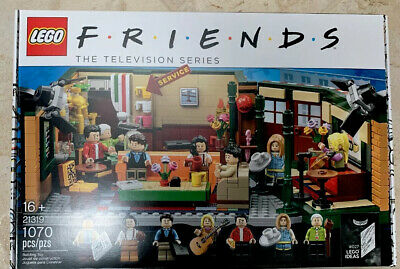$80 • Buy Lego Friends Central Perk Cafe Ideas Set 21319 - Brand New Perfect Box - Gift!