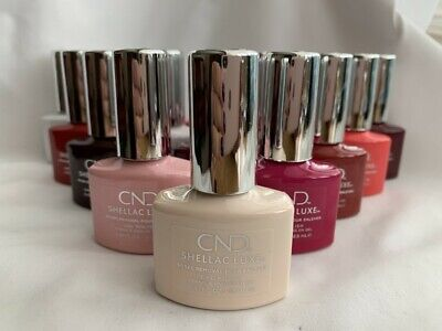 £5.95 • Buy CND SHELLAC LUXE™️ UV Nail Polish 60 Seconds Quick Removal 12.5ml