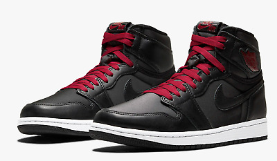$109.99 • Buy Nike Air Jordan 1 High Men's Size 14 Black/Metallic Silver/Gym Red 555088-060