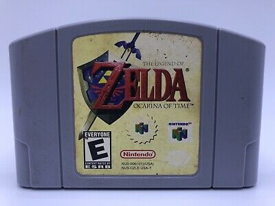 $47.99 • Buy The Legend Of Zelda: Ocarina Of Time Nintendo N64 *AUTHENTIC* Tested Ships Fast!