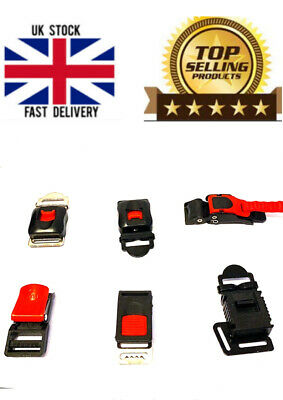 £3.99 • Buy -Motorcycle-Helmet-Clip-Chin-Strap-Quick-Release-Buckle-Autocycle