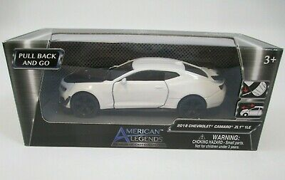 $16.47 • Buy American Legends Diecast White 2018 Chevrolet Camaro ZL1 1LE 1:43 Scale New