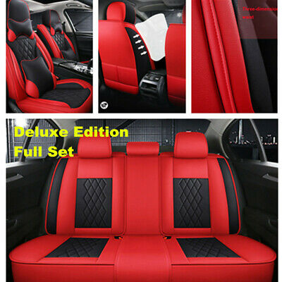 $ CDN198.07 • Buy Car Seat Cover Full Surround Breathble Leather Cushion For Interior Accessories