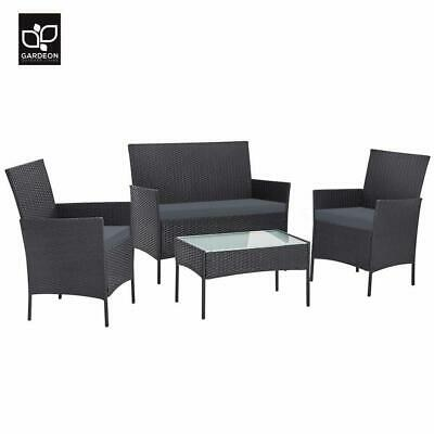 AU297.50 • Buy RETURNs Gardeon Garden Furniture Outdoor Lounge Setting Wicker Sofa Set Patio Cu