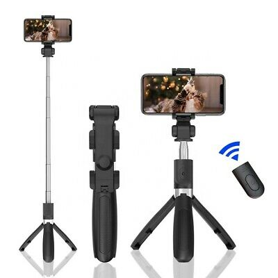 AU18.99 • Buy Bluetooth Selfie Stick Tripod With Wireless Remote For  IPhone And Samsung