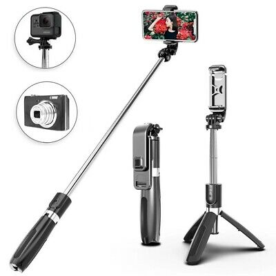 AU21.99 • Buy  Wireless Bluetooth Tripod Selfie Sticks 4 In 1 For Smartphone And Gopro Camera