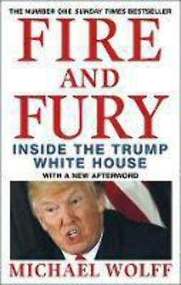 AU12.95 • Buy Fire And Fury: Inside The Trump White House.