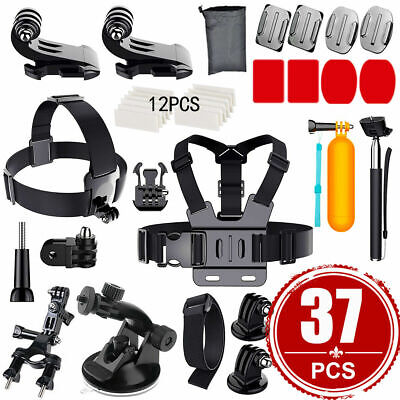 AU17.59 • Buy GoPro Hero 8 7 6 Accessories Pack Case Chest Head Floating Monopod Housing Case