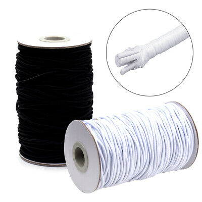 $ CDN18.86 • Buy 70m/Roll Round Elastic Cords Rubber Inside Stretchy Thread Ropes Bands 2mm DIA
