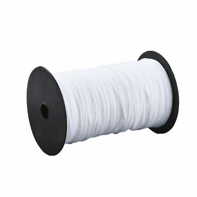 $ CDN7.59 • Buy 20m/Roll Round Nylon Elastic Cords Soft Stretch Threads Bands Tie Rope White 2mm