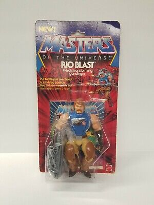 $260 • Buy MOTU, Rio Blast, Masters Of The Universe, MOC, Carded, Figure, He Man, Sealed