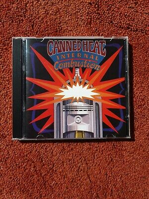 Canned Heat : Internal Combustion CD (1996) Southern Rock • 3.99£