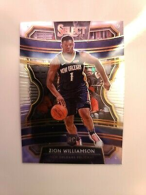 $1.25 • Buy 2019-20 Panini Zion Williamson Select Concourse Rookie Card #1 Mint