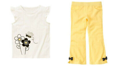 $19.99 • Buy NWT Gymboree Bee Chic Shirt Pants Outfit Size 4 4T