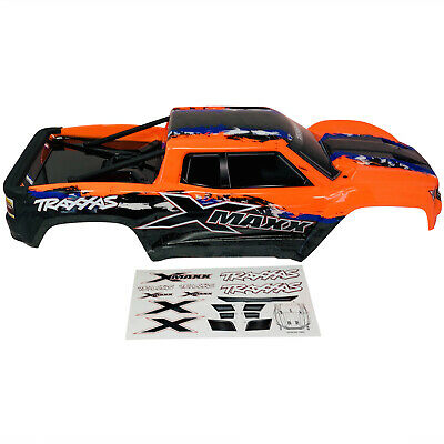 AU325.17 • Buy Traxxas X-Maxx Orange - Bodyshell - Body Shell Painted - Decals - Brand New 7711