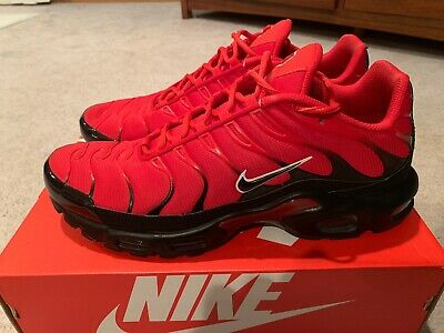 $68 • Buy Nike Air Max Plus TN Men's Size 13 Red, Black And White....