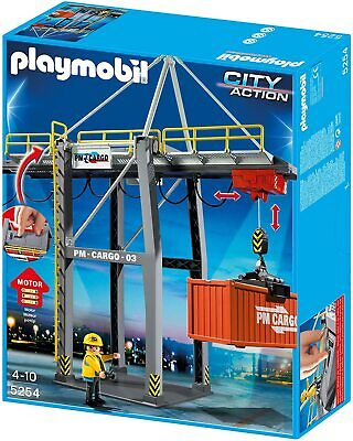 £48.35 • Buy PLAYMOBIL 5254 Cargo Loading Terminal Container Motorized Lift NEW