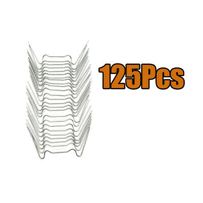 125-pack W Type Glazing Glass Clips Stainless Accessories For Greenhouse • 7.91£