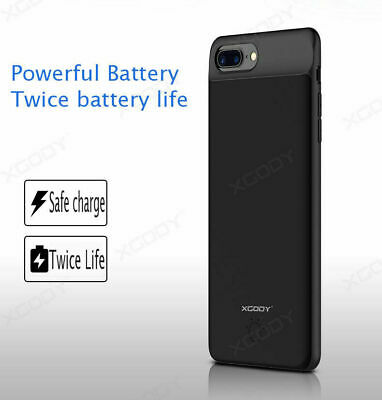 AU33.89 • Buy Battery External Power Slim Charger Case Charging Cover For IPhone 6 7 8 Plus Xs