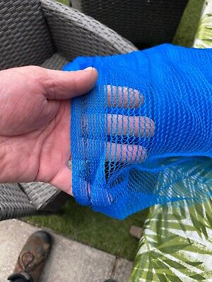 1.8m X 3m Garden / Blue Greenhouse Shade Butterfly  Netting Pest Control • 10£