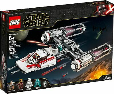 AU164 • Buy LEGO 75249 Star Wars Resistance Y-wing Starfighter - BRAND NEW SEALED