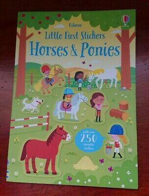 £5.99 • Buy Usborne Little First Stickers Horses And Ponies Sticker Book Horse Pony Dressage