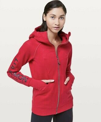 $ CDN129.17 • Buy NWT LULULEMON LIMITED EDITION SCUBA HOODIE 20Y COLLECTION DARK RED LOUNGE Sz 4