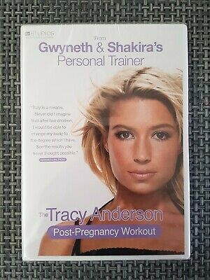 Tracy Anderson Method Post-Pregnancy Workout DVD New & SEALED | Gwyneth Paltrow • 7.99£