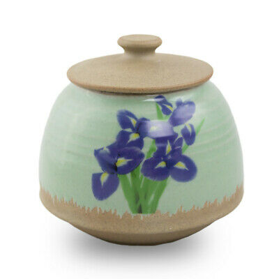 $39.95 • Buy Ceramic Memorial Urns For Ashes - Small  Light Green
