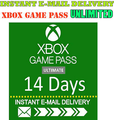 $1.69 • Buy Xbox Live Gold +  Xbox Game PASS Ultimate 14 Day 2 Weeks INSTANT DELIVERY