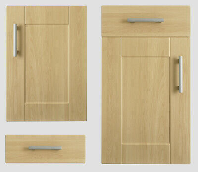 Kitchen Direct Cologne Beech SHAKER DOORS, DRAWER FRONTS Wall Larder Drawer  • 26£