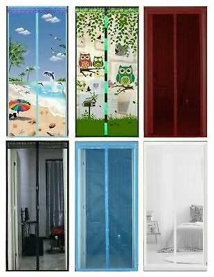£5.95 • Buy MAGIC Magnetic Insect Door Net Screen Bug Mosquito Fly Insect Mesh Guard Curtain
