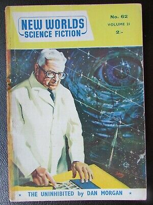 New Worlds Science Fiction Magazine (Vol 21, No. 62) August 1957 • 10£