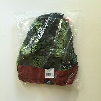 $ CDN241.12 • Buy 🔴 Supreme Backpack North Face Snakeskin Green Day Pack S/s 2018 Ss18 Ss 18 🔴
