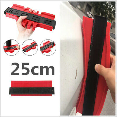 $24.20 • Buy 25cm Profiler Gauge Arc Contour Measuring Tool Car Body Repair Scale Ruler Panel